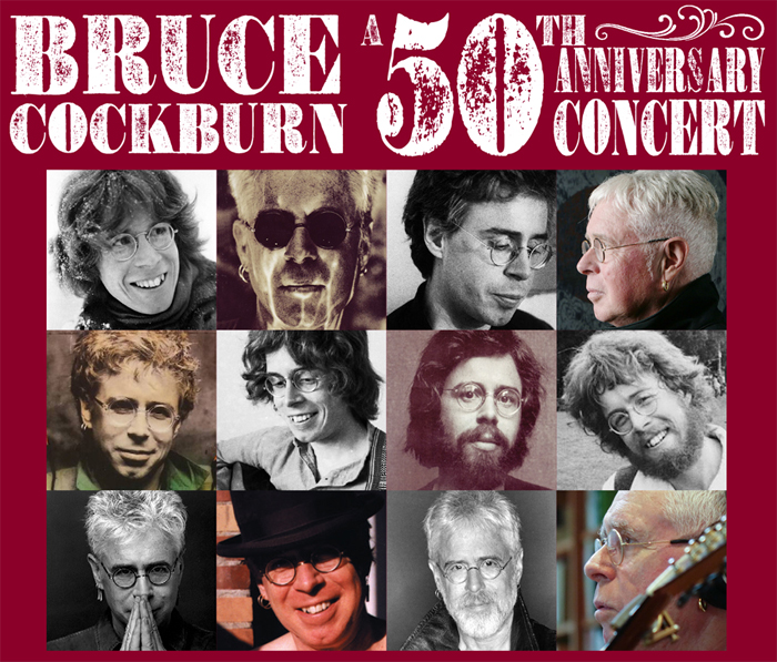 Bruce Cockburn's 50th Anniversary concerts