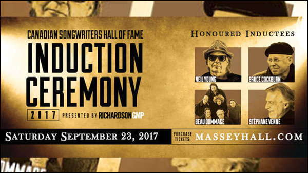 Canadian Songwriters Hall Of Fame Inductees 2017 - Bruce-Cockburn