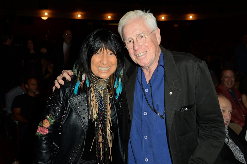 CSHF 2017 Bruce Cockburn & Buffy Sainte-Marie - photo Tom Sandler