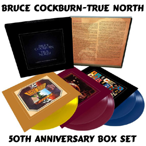 Bruce Cockburn - True North - 50th Anniversary Box Set 5LP - 2020