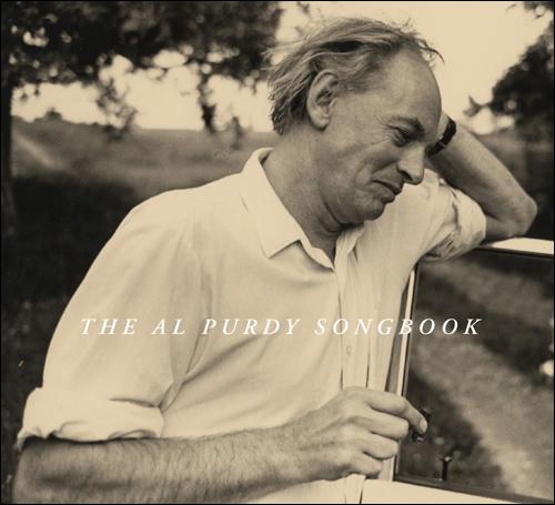 Al Purdy Songbook cover