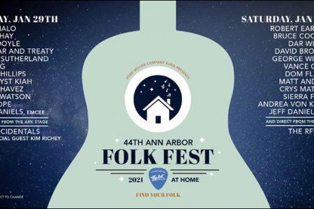Ann Arbor Folk Fest poster