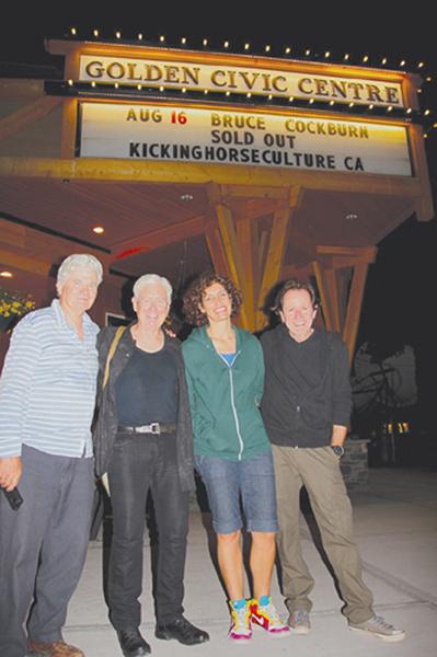 Bill Usher, Bruce Cockburn, Jenny Scheinman, Gary Craig - 2013 - Golden, CO