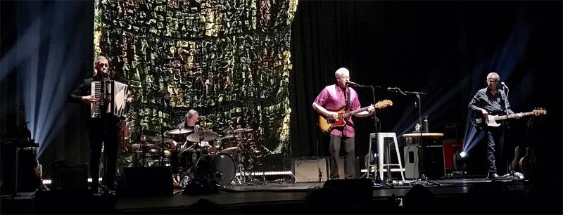 Bone On Bone tour band - John Aaron Cockburn - Gary Craig - Bruce Cockburn - John Dymond - photo deservedly_so