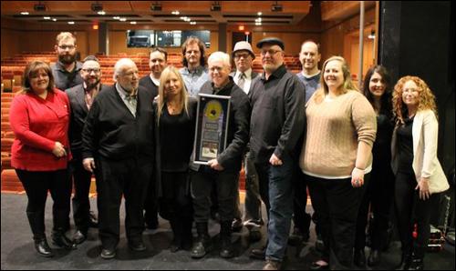 Bruce Cockburn awarded 6X Platinum - Christmas album - True North Records 18 Feb 2016