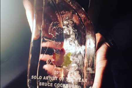Bruce Cockburn wins Canadian Folk Music Award 2018