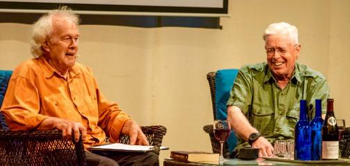 Bruce Cockburn - Des Kennedy - Denman Island Writers Festival 2016