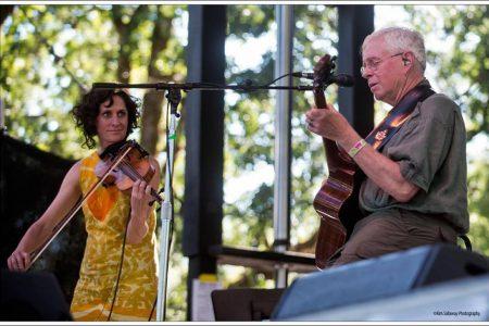 Bruce Cockburn & Jenny Scheinman - 2017 Kate Wolf Festival - photo- Kim Sallaway