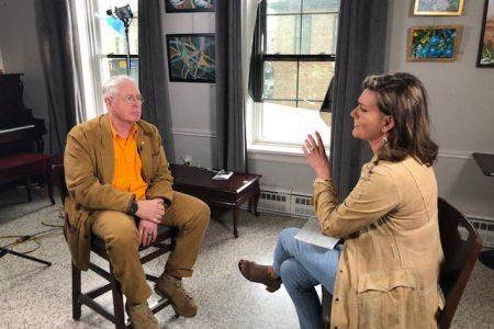 Bruce Cockburn & Lisa LaFlamme - CTV interview