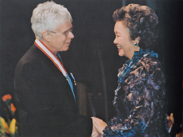 Bruce Cockburn - Officer in the Order of Canada - 2003