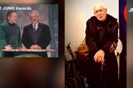 Bruce Cockburn - Juno's Canadian Music Hall Of Fame