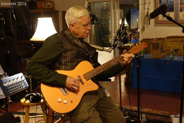 Bruce Cockburn - studio - 15 November 2016