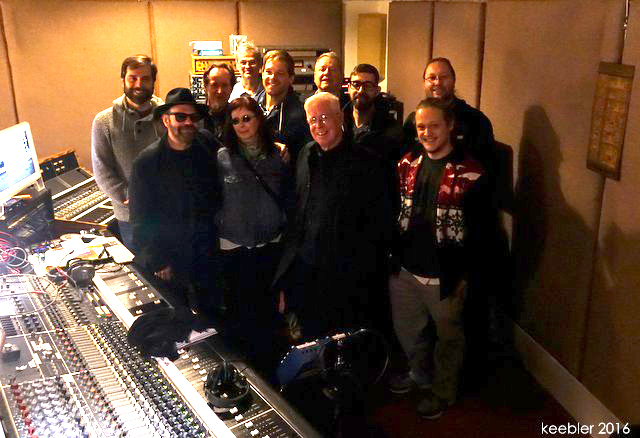 Bruce Cockburn - players & staff Prairie Sun Recording Studio - 18 November 2016
