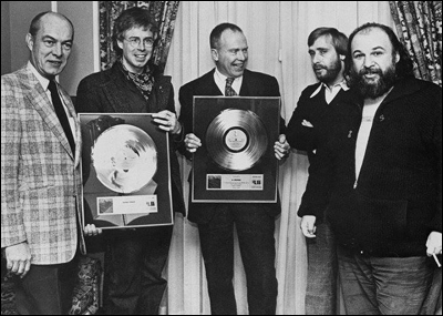 Bruce Cockburn - Alex Colville gold record presentation - 1974