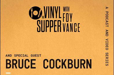 Foy Vance Vinyl Supper poster
