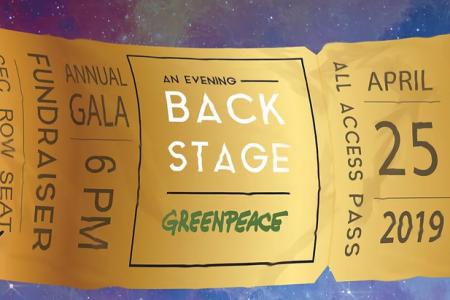 Greenpeace Annual Gala