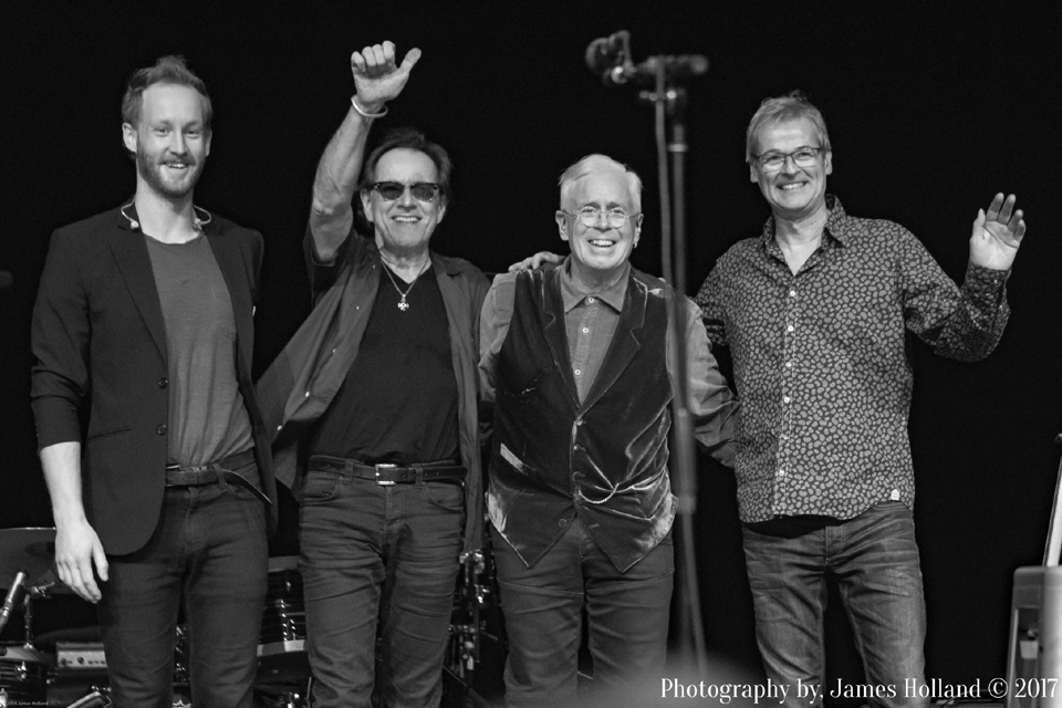 John Aaron Cockburn - Gary Craig -Bruce Cockburn - John Dymond - Albany_5nov17 - photo James Holland