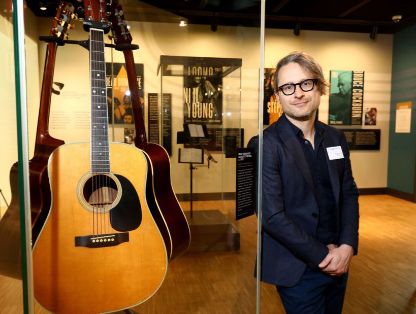 Music Museum - NAC - Adam Fox - photo Darren Makowichuk/Postmedia