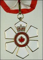 Order of Canada award