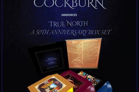 Bruce Cockburn 50th Anniversary vinly box set - True North