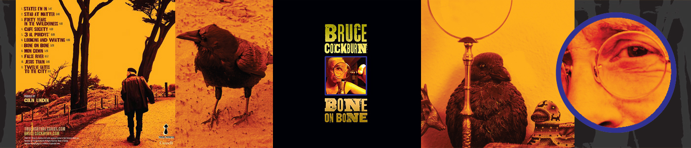 Bone On Bone - 2017 new album by Bruce Cockburn