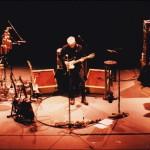Bruce Cockburn - Ben Riley - Steve Lucas - 2000Feb11 soundcheck Seattle - photo Daniel Keebler
