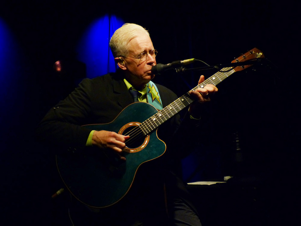 Bruce Cockburn Berlin Germany 3November2018 photo Ron Mertiny