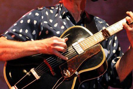 Bruce Cockburn - Strawberry Music Festival - 27 May 2018 - photo Craig Silberman