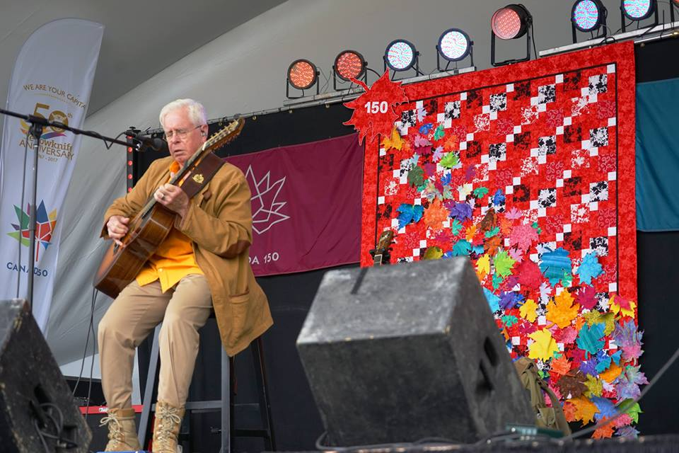 Bruce Cockburn - Yellowknife - photo Kevin OReilly