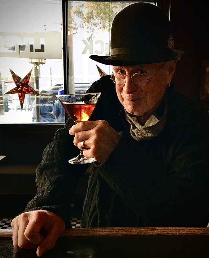 Cheers! Bruce Cockburn SF 2021 - photo Resa Blobaum