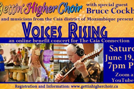 Voices Rising - Gettin' Higher Choir - benefit for Mozambique