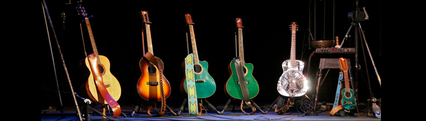 Bruce Cockburn's guitars