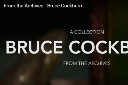 Bruce Cockburn - McMaster library Archive